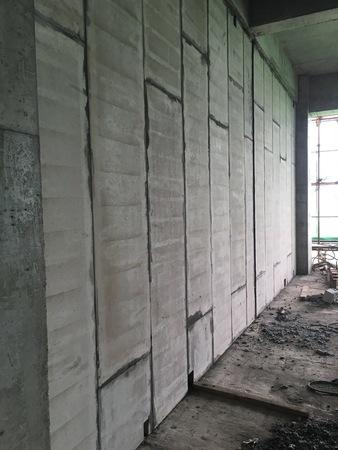车间隔墙选用呈美12cm厚轻质隔墙板